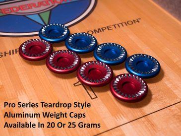 Pro Series Aluminum Weight Caps: Tear Drop