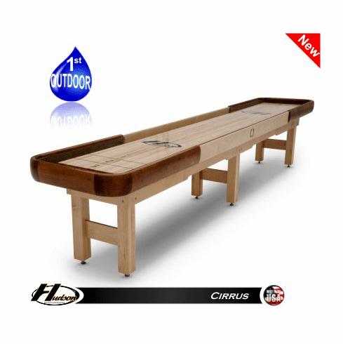 18' Hudson Cirrus Shuffleboard Table