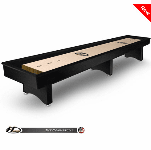 18' Hudson Commercial Shuffleboard Table