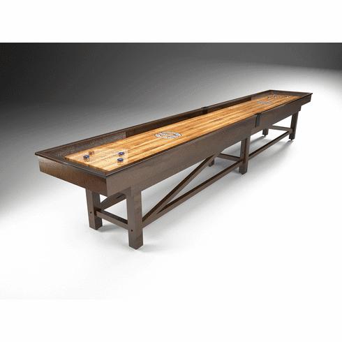 12' Champion Sheffield Wood Shuffleboard Table