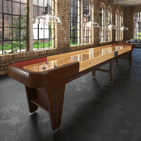 12' Champion Vintage Charleston Shuffleboard Table