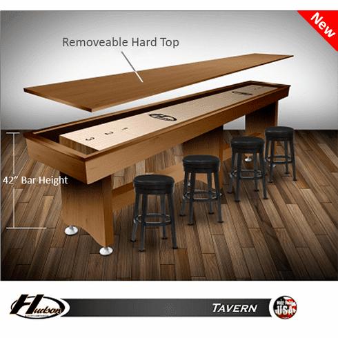 16' Hudson Tavern Style Shuffleboard Table