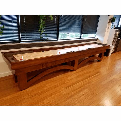 9' Champion Arch Shuffleboard Table