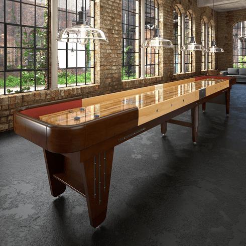 9' Champion Vintage Charleston Shuffleboard Table