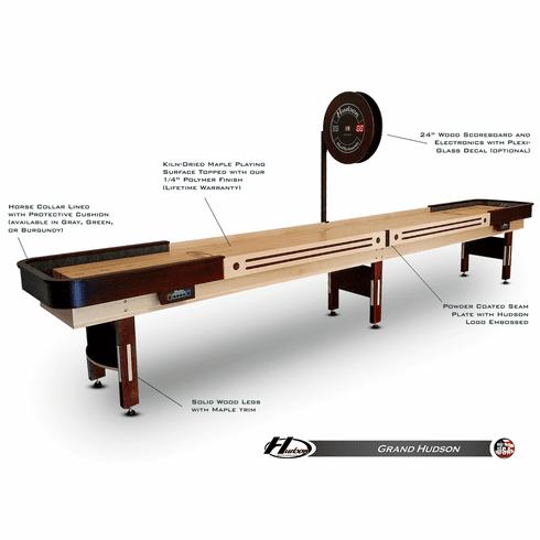 9' Grand Hudson Shuffleboard Table