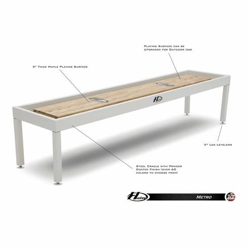 9' Hudson Metro Shuffleboard Table