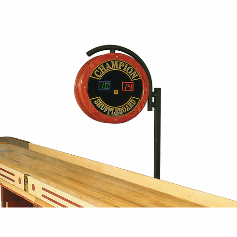 Champion Large Wooden Electronic Scoreboard