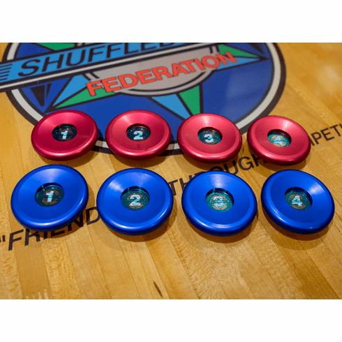 Pro Series Aluminum Weight Caps: Standard 20G or 25G