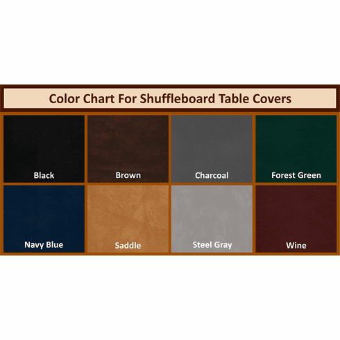 18' Shuffleboard Table Covers