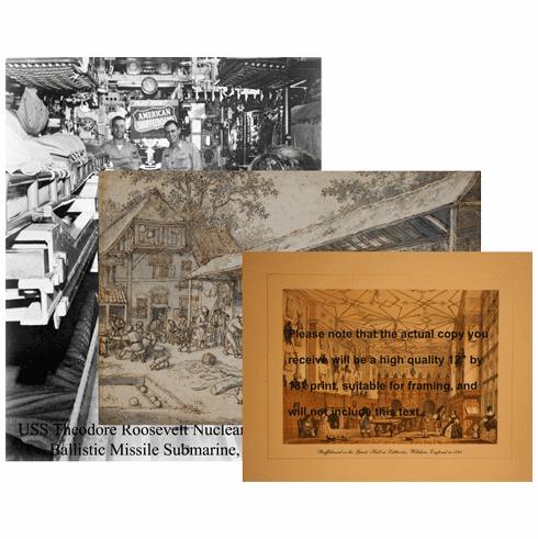 Shuffleboard Print Set