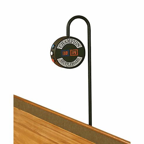 Champion J-Bar Shuffleboard Table Scoreboard