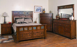 Durango Rustic Mission Bedroom Set