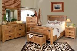 Sierra Rustic Lodge Bedroom Set