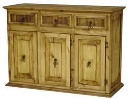Saltillo Rustic Wood Credenza