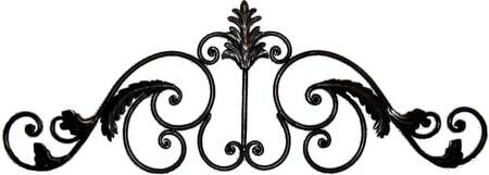 Decorative Wrought Iron Arch