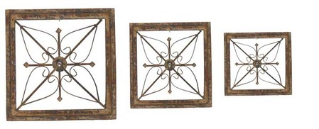 Square Frame Plaque Set