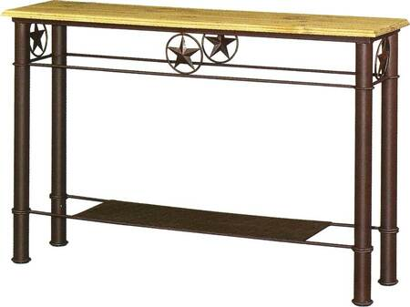Star Iron Sofa Table
