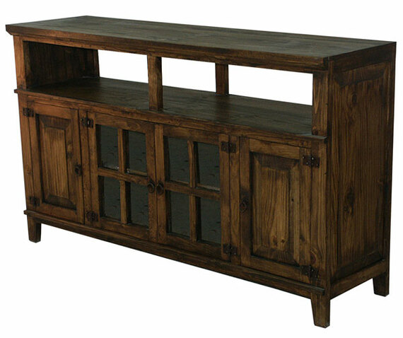 "Hacienda 60"" Dark Rustic TV Stand"