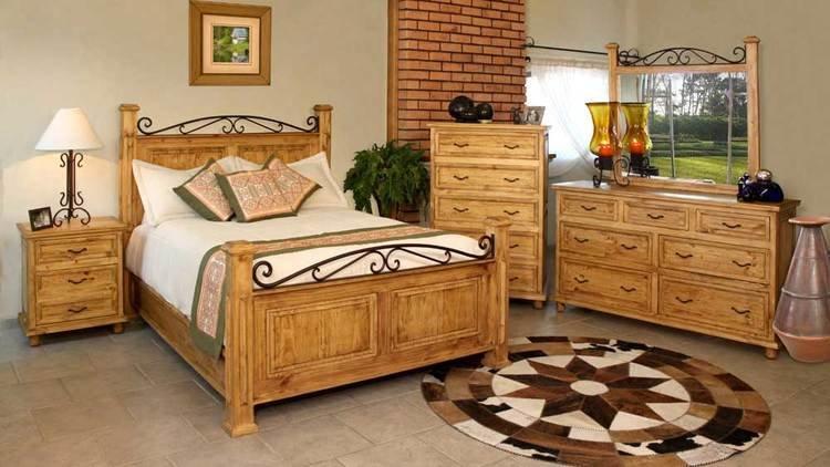 Valencia Rustic Bedroom Furniture Set