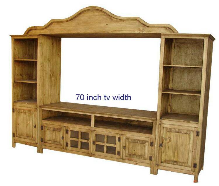 Corona Rustic Entertainment Center