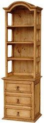 San Carlos Curio Cabinet W/ Drawers
